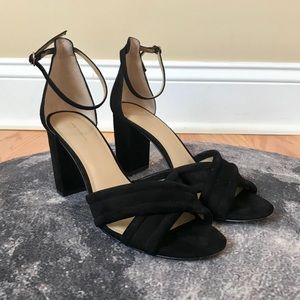 Ann Taylor Cris Cross Block Heel